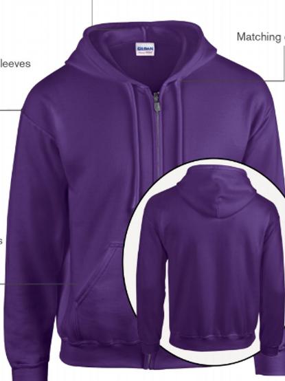 ADULT Shadowkicks Zippered Hooded Sweatshirts
