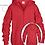 Thumbnail: YOUTH Shadowkicks Zippered Hooded Sweatshirts