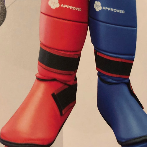 Shin Pads and Boots