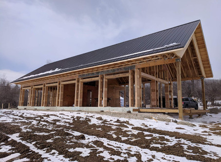 A Straw Bale, Off-Grid Home in Creemore, ON