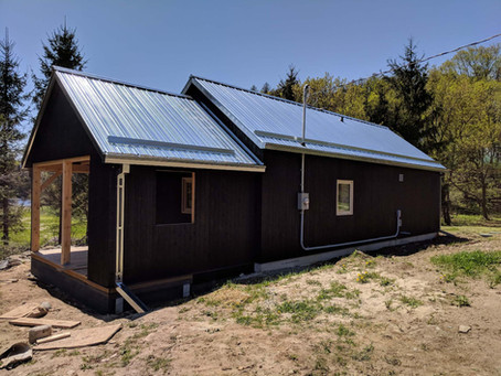 A Passive House in Walter's Falls, Ontario