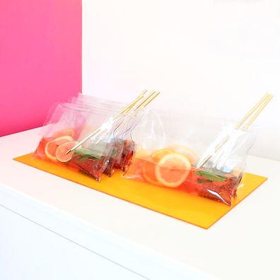 cocktail design champagne - recette - atelier - blog food design de Laure-Anne Caillaud