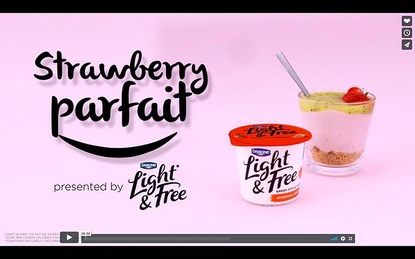 recete dessert yaout kiwi fraise studio de stylisme culinaire paris danone
