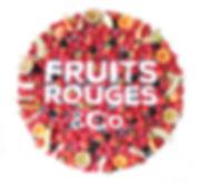 design culinaire, creation visuelle artistique, logo en fruits pour Fruits rouges & Co