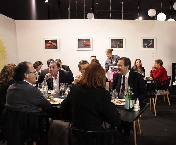 Exposition photo, création visuelle, design culinaire, au Sirha, collaboration avec l'institut Paul Bocuse