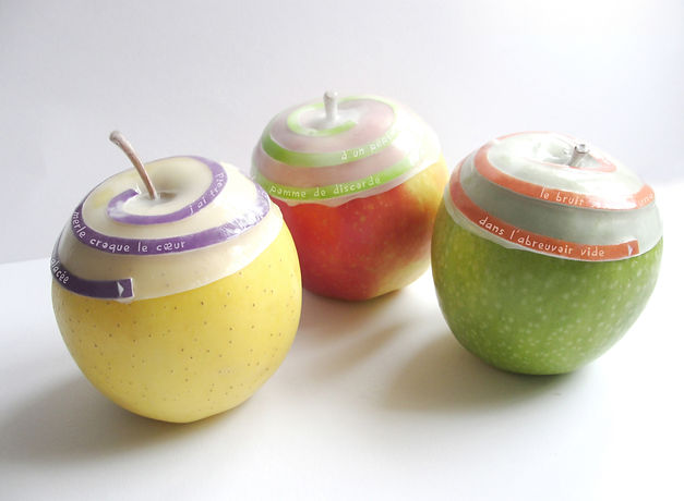 design culinaire, innovation fruits, pommes