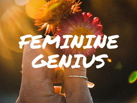 Five minutes of Feminine Genius