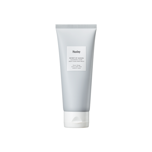 CLEANSING FOAM ; DEEP CLEAN, DEEP MOIST