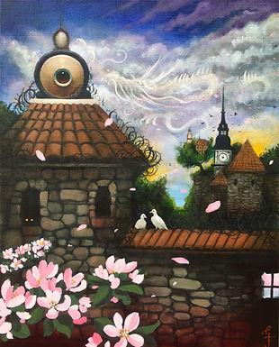 borg dragonart blossom popsurrealism surrealism postsurrealism gunnarfoley