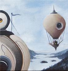 hotairballoon detgränslösagränslandet popsurrealism