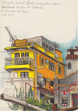 urbansketching drawing pakshawan