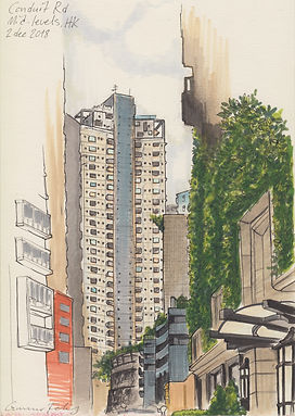conduit rd mid-levels hk