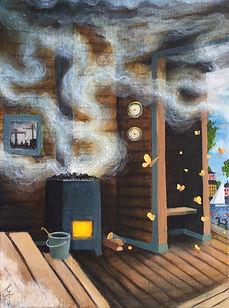 vintergatan saunalife postsurrealism gröndal gunnarfoley