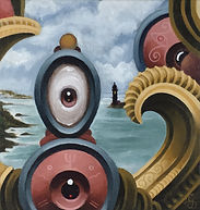 thirdeye lighthouse popsurrealism gunnarfoley