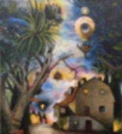 nightwalking popsurrealism midsommarkransen hägersten magicalrealism newcontemporaryart gunnarfoley