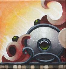 acrylic painting popsurrealism gunnarfoley