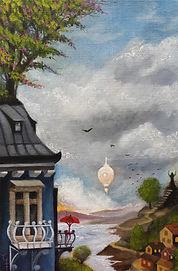 lowbrow popsurrealism dreamscape gunnarfoley konst stockholm