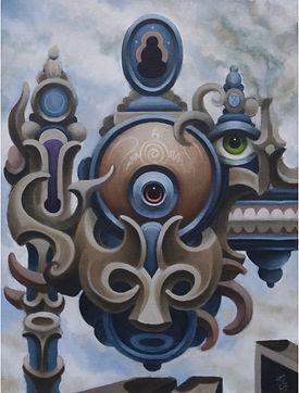 Thirdeye tar dystopia darkbuddha popsurrealism postsurrealism