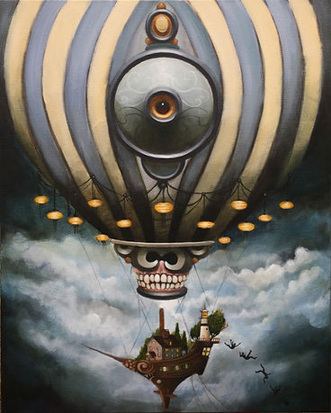 newcontemporaryart popsurrealism magicalrealism lowbrow gunnarfoley