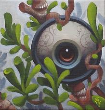 paradisetree carusso popsurrealism gunnarfoley acrylicpainting