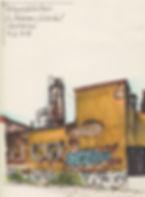 kolsyrefabriken lövholmen urbansketching stockholm