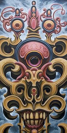 stupa buddistart visionaryart popsurrealism gunnarfoley