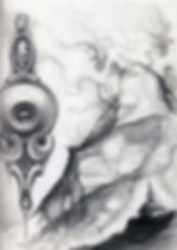 graphite drawing gunnar foley