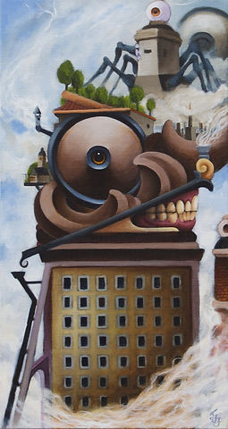 hightower thirdeye allseeingeye innerspace popsurrealism detgränslösagränslandet gunnarfoley