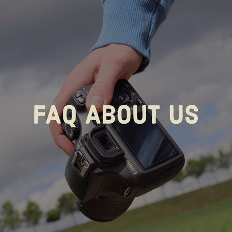 Frequently Asked Questions about Photographers & Videographers