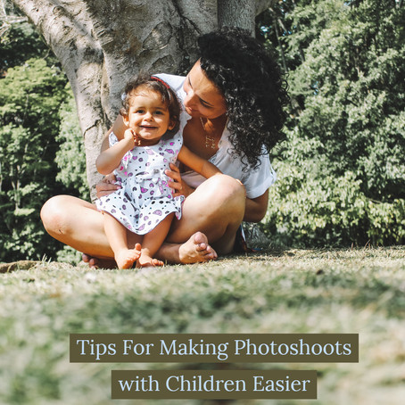 Tips for Making Photoshoots with Children Easier