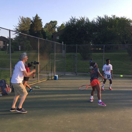 Metropolitan Tennis Education Group video session.