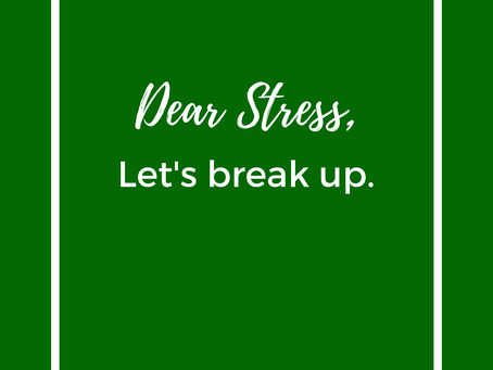 Dealing with workplace stress