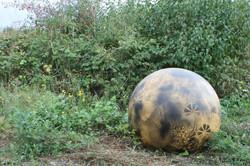 Sphère décorative champêtre