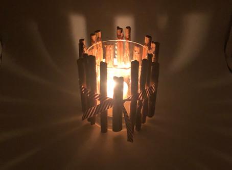 How To Make A Cinnamon Stick Tea Light Holder (Video)