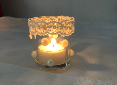 How To Make Christmas Table Votives (Video)