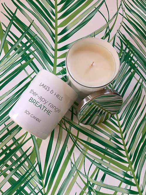 Breathe | Peppermint & Eucalyptus Aromatherapy Candle