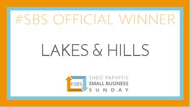 #SBS Theo Paphitis Award Winner