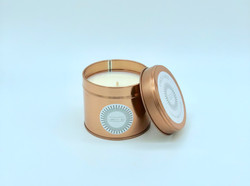 Rose Gold Soy Wax Candle 200g Tin