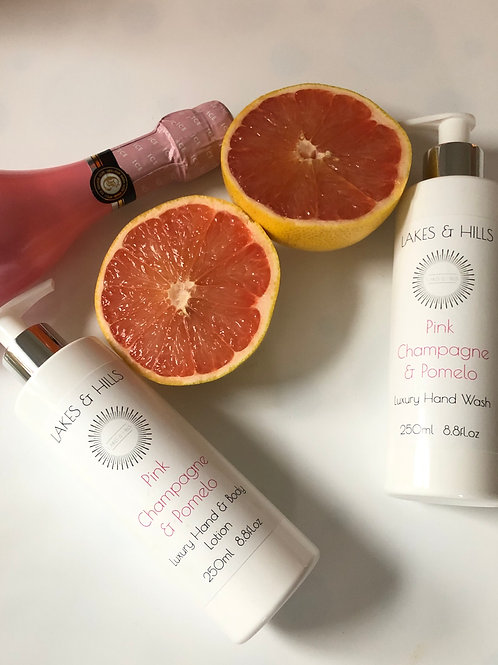 Pink Champagne & Pomelo Hand Wash & Body Lotion
