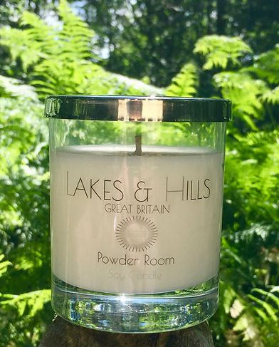 Lakes & Hills Powder Room Soy Candle