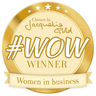 Jacquelin Gold CBE #WOW award winner