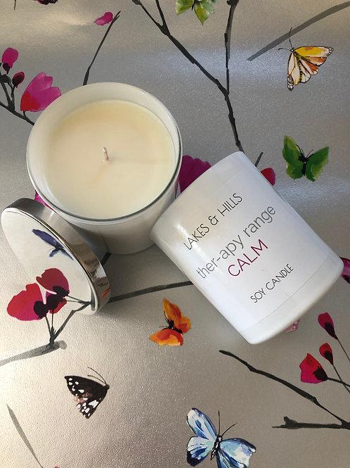 Calm | Lemon & Lavender | Aromatherapy Candle