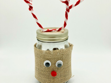 How To Make A Reindeer Sweet Jar