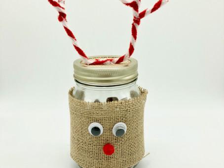 How To Make A Reindeer Sweet Jar