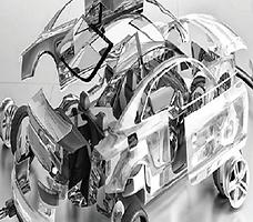 plastica riciclata automotive
