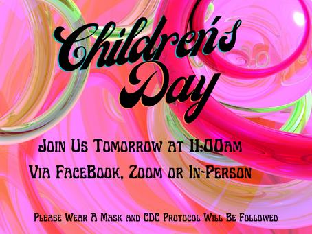 Children's Day Worship Service