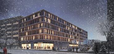 Bürohaus in Bremen, Grohmann Lehnhardt Architekten