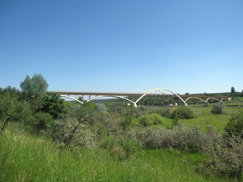 Straßenbrücke in Pouch, Bieker AG