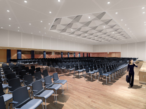 Saal 4 Congresszentrum Hamburg, Tim Hupe Architekten