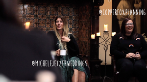 Michele Jetzer Weddings and Copper Fox Planning // Photo by  Laurasweddingfilms